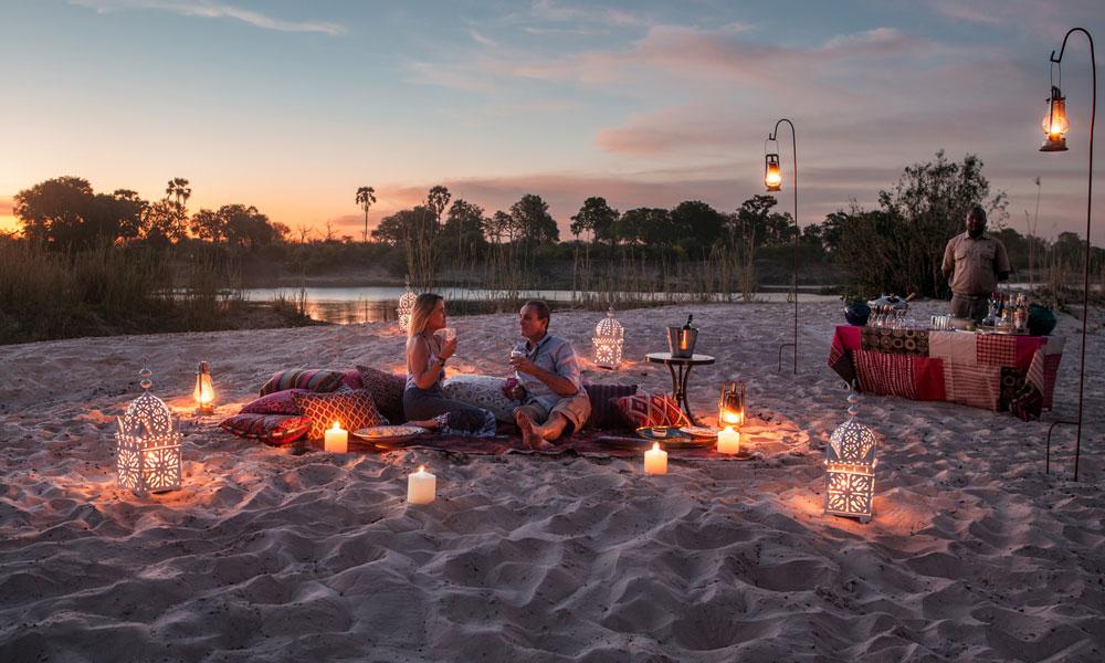 Honeymoon in Zambia