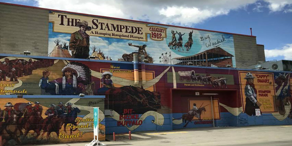 Calgary Stampede ground
