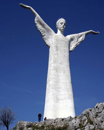 Italy-Maratea-christ-statue